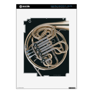 French Horn Decal For iPad 3