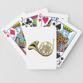 French Horn Deck Of Cards