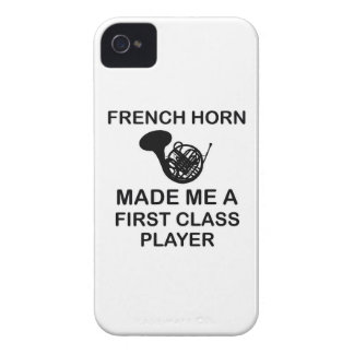 FRENCH HORN Design Case-Mate iPhone 4 Case