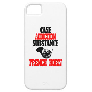 FRENCH HORN designs iPhone 5/5S Covers