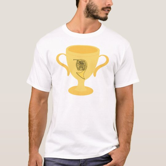 French Horn Gift Trophy T-Shirt