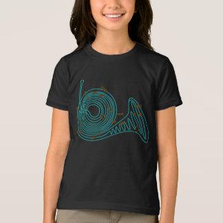 French Horn Girls T-Shirt