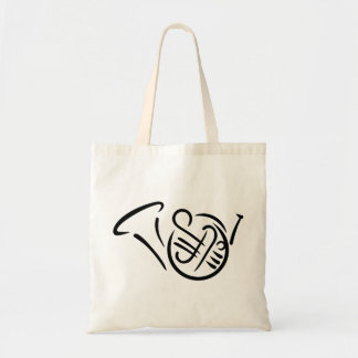 French horn instrument tote bag
