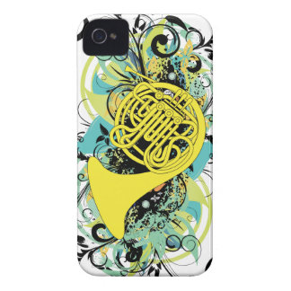 French Horn iPhone 4 Cover