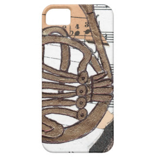 (French) Horn iPhone 5 case