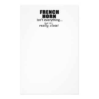 French Horn Isn't Everything Personalized Stationery