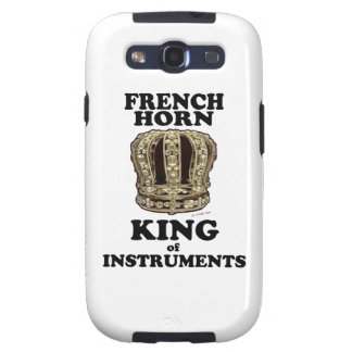 French Horn King of Instruments Galaxy S3 Cases