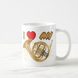 French Horn Love Coffee Mug
