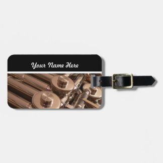 French Horn Tag For Luggage