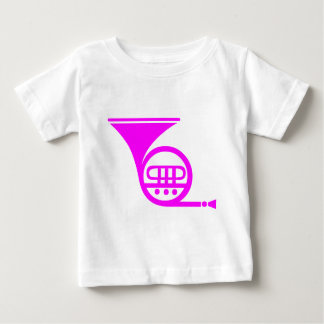 French Horn - Magenta Baby T-Shirt