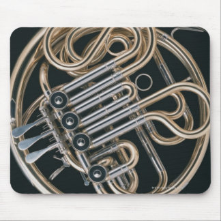 French Horn Mouse Pad