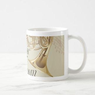 French Horn Music Room Coffee Mug