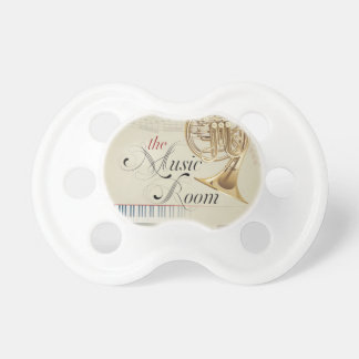 French Horn Music Room Pacifier