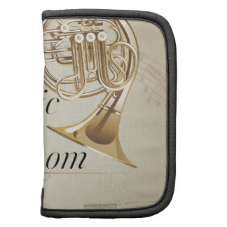 French Horn Music Room Folio Planners
