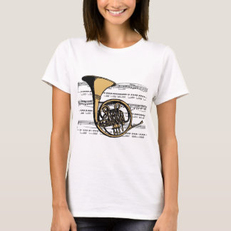 French Horn musical 06 B T-Shirt