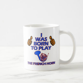 french horn Musical designs Coffee Mug