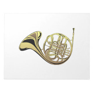 French Horn Notepad