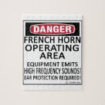 French Horn Operating Area Jigsaw Puzzles