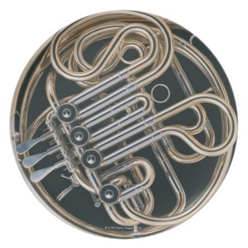 French Horn Party Plate