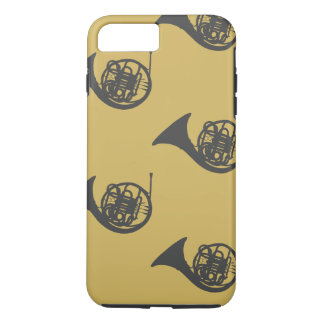 French Horn Pattern iPhone 8 Plus/7 Plus Case