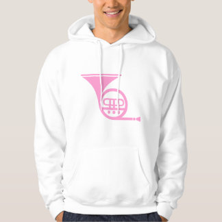 French Horn - Pink Hoodie