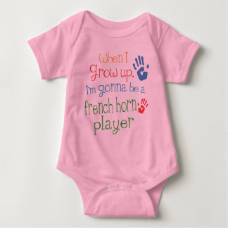 French Horn Player (Future) Infant Baby T-Shirt
