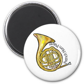 French Horn Player Magnet