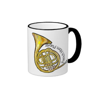 French Horn Player Mug