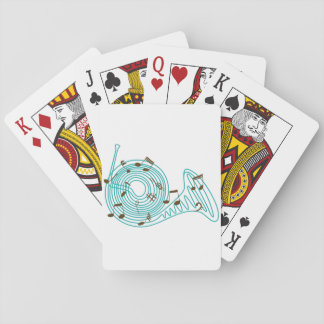 French Horn Playing Cards