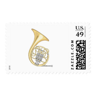 french horn postage stamps
