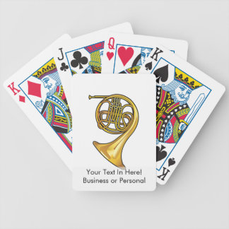 french horn real style.png bicycle playing cards