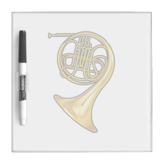 french horn real style.png dry erase board