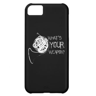 French Horn Weapon Case For iPhone 5C