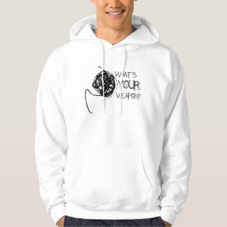 French Horn Weapon Hoodie
