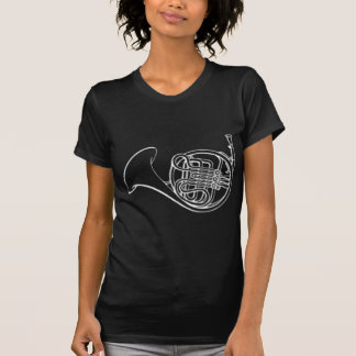 french_horn_white.png T-Shirt