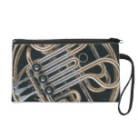 French Horn Wristlet Purses
