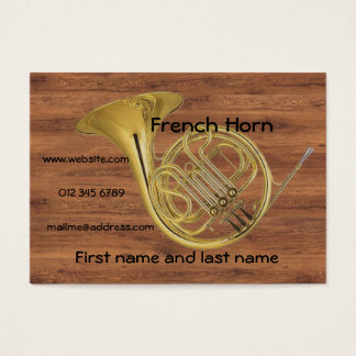 French Horn XL Business Card