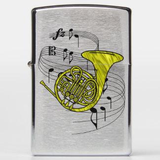 French Horn Zippo Lighter