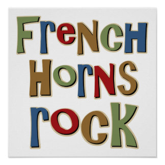 French Horns Rock Posters