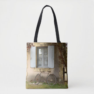 French House All Over Print Tote Bag