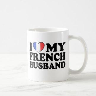 French Husband Coffee Mugs