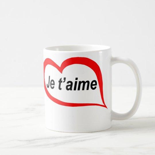 French I love you Coffee Mug