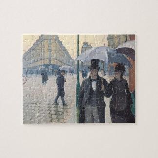French Impressionism | Paris Street Rainy Day Jigsaw Puzzle