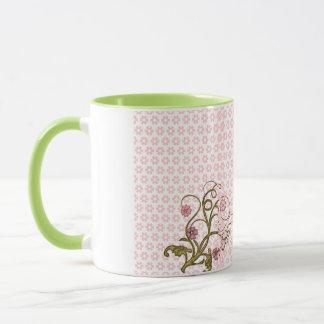 French Inspiration Sandrine Floral Spray Mug