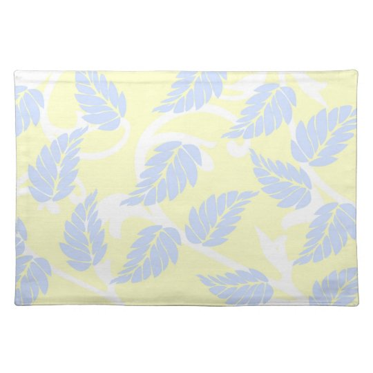 French Inspired Leaves Placemat