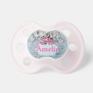 French Inspired Pacifier for Baby Girl