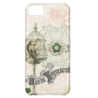 French Inspired Shabby Chic Bird Cage iPhone 5C Cover