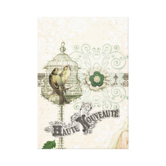 French Inspired Shabby Chic Canvas Prints