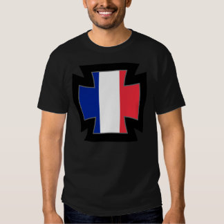 French Iron Cross T-shirts