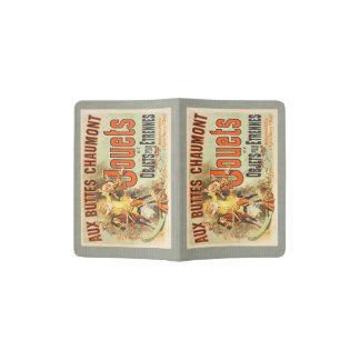 French Joets Vintage Toy Poster Friends Passport Holder